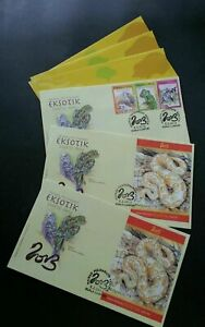 [SJ] Exotic Pets Malaysia 2013 Snake Reptiles Chinese Lunar (FDC set) *foil