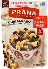 Trail Mix Prana Organic Kilimanjaro Deluxe Dark Chocolate Trail Mix 24oz Ea.Pk.