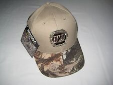NAPA Beige/Camo Hat by Advantage Timber Adjustable Sizing