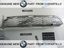 NEW GENUINE BMW X5 E53 LCI TITAN SILVER FRONT BUMPER UPPER GRILL LEFT 7130457