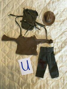 Action Man Vintage Clothes  (Blue U)