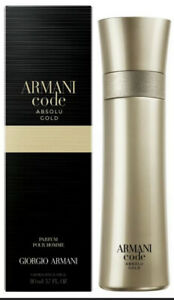 Armani Code Absolu Gold Men Eau de Parfum New and Sealed EDP perfume 110ml