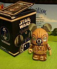 """DISNEY VINYLMATION Park - 3"""" Star Wars Set 4 Empire Strikes Back Zuckuss w/ Box"""