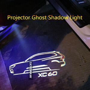 1 PAIR FOR VOLVO XC60 (2010-2021) CAR DOOR WELCOME LIGHT PROJECTOR SHADOW LIGHT