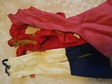 1976 Mego cher halter dress & dragon lady dress w hoe down jumper