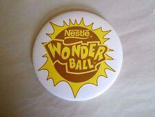 Vintage Nestle Wonder Ball Chocolate Candy advertising Pinback Button