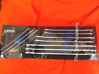 Ultra Thin Spanner Set Tool Control Foam Tray 10 Piece 6mm - 24mm Open Ended