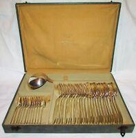 CHRISTOFLE MENAGERE COMPLETE 37 pièces ART DECO 1935 modèle Atlas
