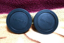 2 x front body Cap for Olympus Lumix Micro 4/3 M4/3  Mount Camera EP EM GF GH
