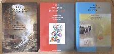 3 VOLUMES LES ARTISTES DE L'AN 2000 ART CONTEMPORAIN FRANCAIS PEINTURE SCULPTURE