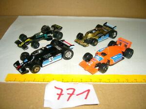 Konvolut, Sammlung Nr. 771 Modellautos Welly, Maisto, Playart Formel Rennwagen,