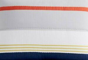 Pottery Barn PB Teen Wyatt Striped Full/Queen Quilt Comforter ~ Multi