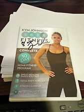 KYM JOHNSON 5678 FITNESS 30 DAY HOME FITNESS PROGRAM DVD **  AUTOGRAPHED COPY **