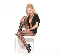 Fishnet Pantyhose New Adult Women Sexy Valentine Elegant Lingerie Black One Size