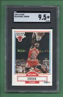 1990-91 Fleer Michael Jordan Chicago Bulls card #26 HOF (Comp PSA) MINT+ SGC 9.5