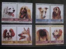 Hunde dogs  Bequia - St. Vincent  - 4 ZD kompl. Satz  **  postfrisch