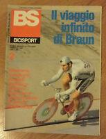 BS / BICISPORT N.2 DEL FEBBRAIO 1986 - POSTER CALENDARIO (OK11)