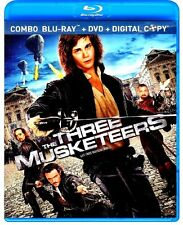THE THREE MUSKETEERS(NEW BLU-RAY/DVD/DIGITAL)MILLA JOVOVICH,LOGAN LERMAN,