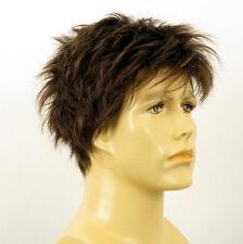 Perruque homme 100% cheveux naturel châtain ref FLORENT 6spw