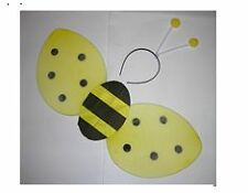~*~12 SETS OF BEE WING W/ANTENNA~~BEE COSTUME DRESS UP