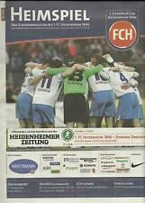 Stadionmagazine2.LIGA1,FcHeidenheim1846-SV Sandhausen vom 05.03.2017+21.11.2014