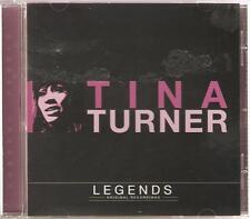 TINA TURNER LEGENDS CD ORIGINAL RECORDINGS - A FOOL IN LOVE & MORE