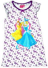 Pyjamas chemises de nuit violette pour fille de 2 à 16 ans