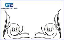1 Paar  DDR  LKW Seitenfenster Aufkleber - Sticker - Decal !