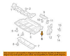 NISSAN OEM Front Bumper-Bezel Bolt 081466205H