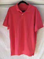 J.Crew Classic Pique Short Sleeve Polo Shirt-Cotton-Pale Barn -Men's XL-NWT $39