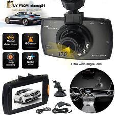 """2.4"""" Vehicle Car DVR Camera Video Recorder Dash Cam G-Sensor Dual Lens OEO"""
