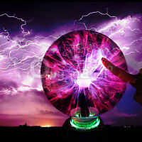 Disco Party Touch Sensitive Electrostatic Induction Plasma Ball Table Light Lamp