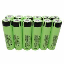 18650 Batería 3400mAh Alto Consumo Li-ion Recargable botón superior para timbre Ncr