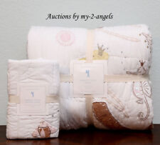 NEW Pottery Barn Kids ISABELLE MERMAID CASTLE Twin Quilt + Std Sham IVORY *Girls
