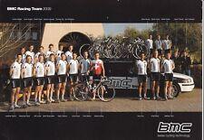 CYCLISME carte équipe cycliste BMC RACING TEAM 2011