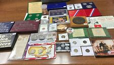 Lot 30 US Coin Collection Silver Gold Flying Cent 2-Cent 3-Cent 1909-VDB Medals