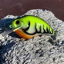 Custom painted S crank, crank bait, fishing, bass, walleye, pike, crappie