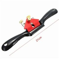 Adjustable Wood Craft Metal Blade Spoke Shave Hand Plane Woodworking Hand Tool