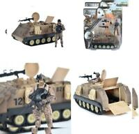 Elite Force Assembly-Free M113 Desert Armored Military Vehicle with 1/18...