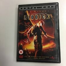 * DVD Film * CHRONICLES OF RIDDICK *  EX RENTAL