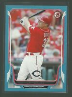 2014 Bowman Jay Bruce Blue Parallel Card # 5 serial #'d /500 Reds Baseball