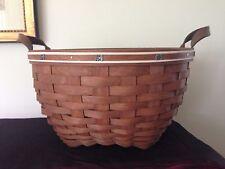 Longaberger 2008 Consultant Sales Award 12� Custom American Work Basket - Rare!