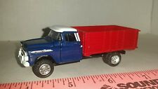 1/64 CUSTOM ERTL farm toy 1956 chevrolet apache seed grain truck free shipping!