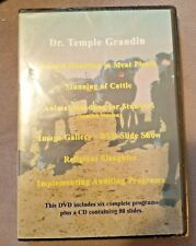 DR. Temple Grandin Animal Handling in Meat Plants -  DVD