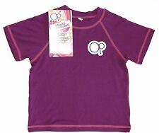 OP NEW Pink or Purple Rash Guard SPF 50 Swim Shirt Top Girls 2T S M or 5T M L