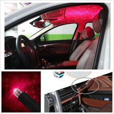 Mini LED Car Roof Star Night Lights Projector Light Ambient Atmosphere USB Plug