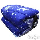 Edredón De primavera Moderno Doble Fantasía Cielo Azul Estrellas Asters SARANI