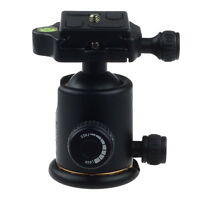 8KG 360° Swivel Panoramic Ball Head &Quick Release Plate for Tripod DSLR Camera