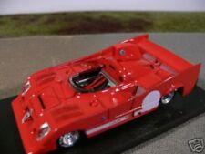 1/43 Brumm r237 Alfa Romeo 33TT12 Prototipo 1974 rot