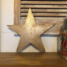 STAR RUSTIC GOLD METAL LETTER HOME HOUSE SIGN LETTERING WORD CLASSIC INTERIOR